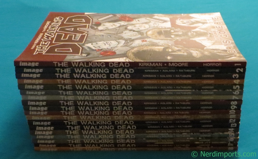 TWD Graphic Novels