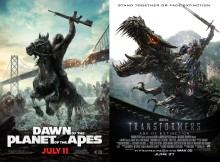 Planet of the Apes Transformers