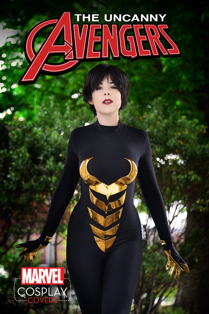 marvel cosplay cover wasp