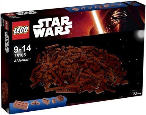 Star Wars Lego Alderaan