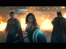 Batman Wonder Woman and Superman ready to kick ass