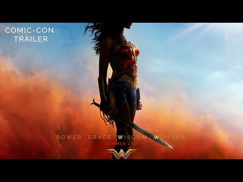Wonder Woman SDCC Movie Trailer