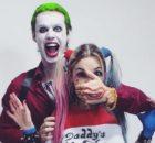 Veronica Bochi cosplaying as Harley Quinn 3