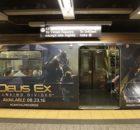 Deus Ex Mankind Divided New York Subway Advertisment 1