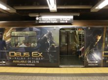 Deus Ex Mankind Divided New York Subway Advertisment 1