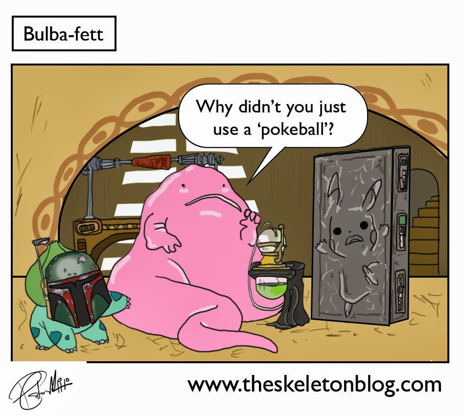 bulbasaur boba fett star wars