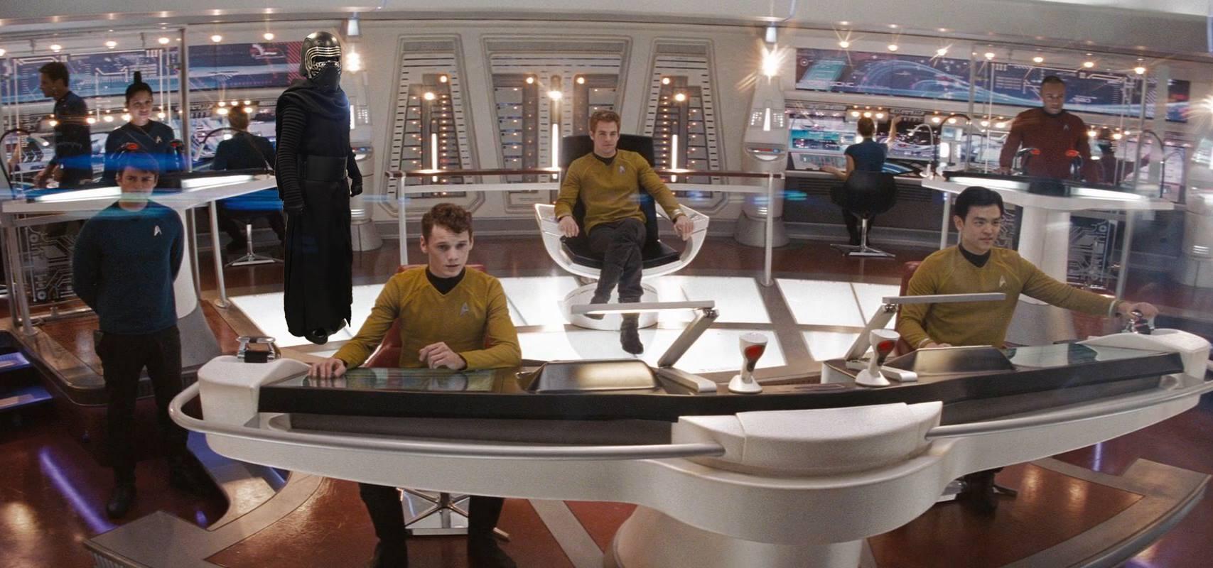 Kylo Ren on Star Trek