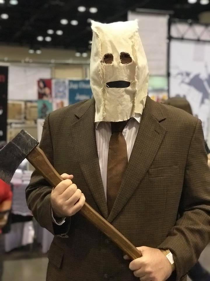 My Strangers Man in the Mask cosplay from Megacon 2018
