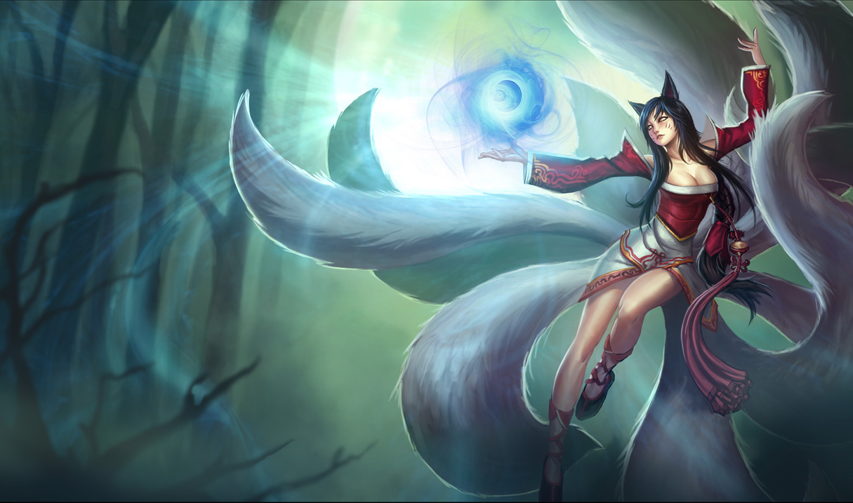 Ahri LoL A New Dawn