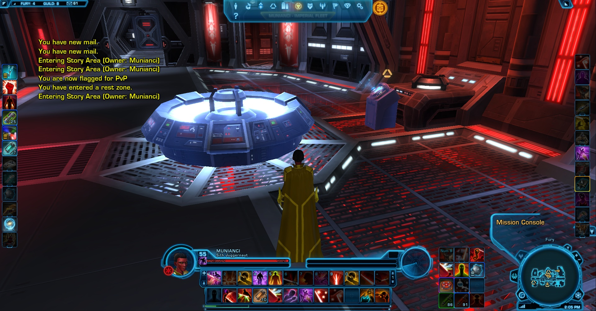 New ship quest terminal SWTOR