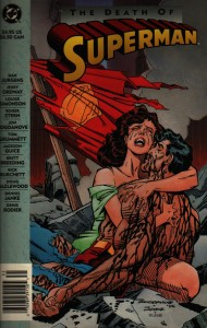 death of superman tpb book