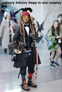 Johnny Depp Cosplay