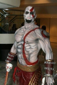 Kratos Cosplay from God of War
