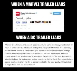 marvel versus dc leaks