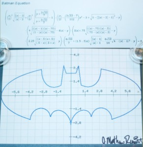 batman math equation