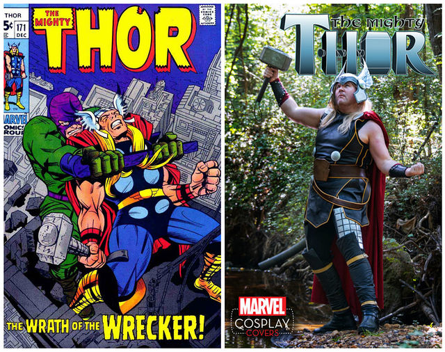thor cosplay cover