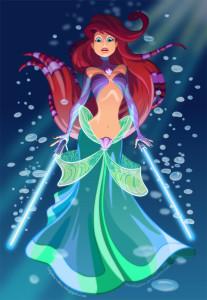 Ariel the Little Mermaid Jedi