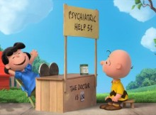 Peanuts Movie Charlie Brown and Lucy the Doctor is In