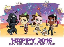 star wars happy new year 2016