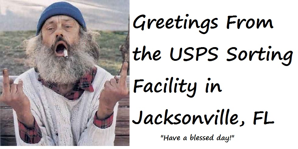 Is the USPS Sorting Facility in Jacksonville, Florida Completely