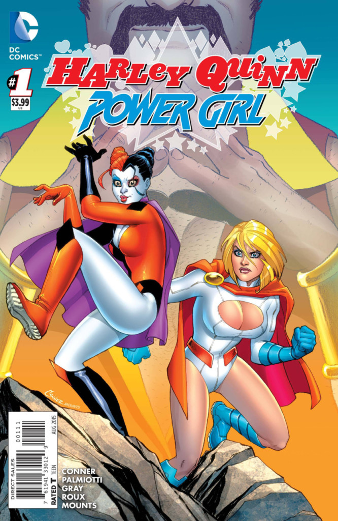 Harley Quinn and Power Girl 1 of 6 Mini Series