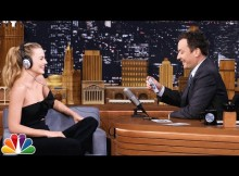 Margot Robbie on Jimmy Fallon playing the whisper game