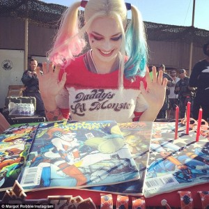 Margot Robbie Harley Quinn cake