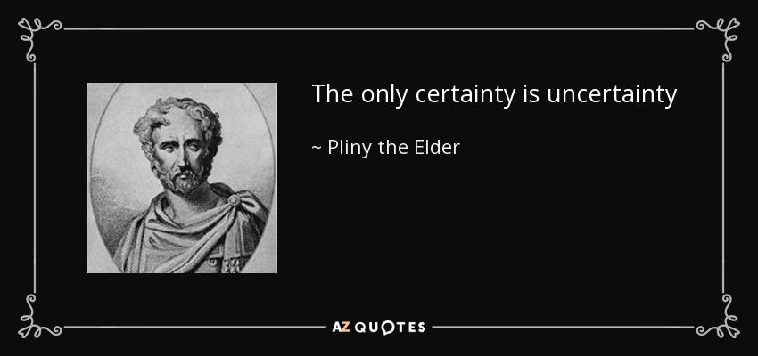 Pliny the Elder Quote