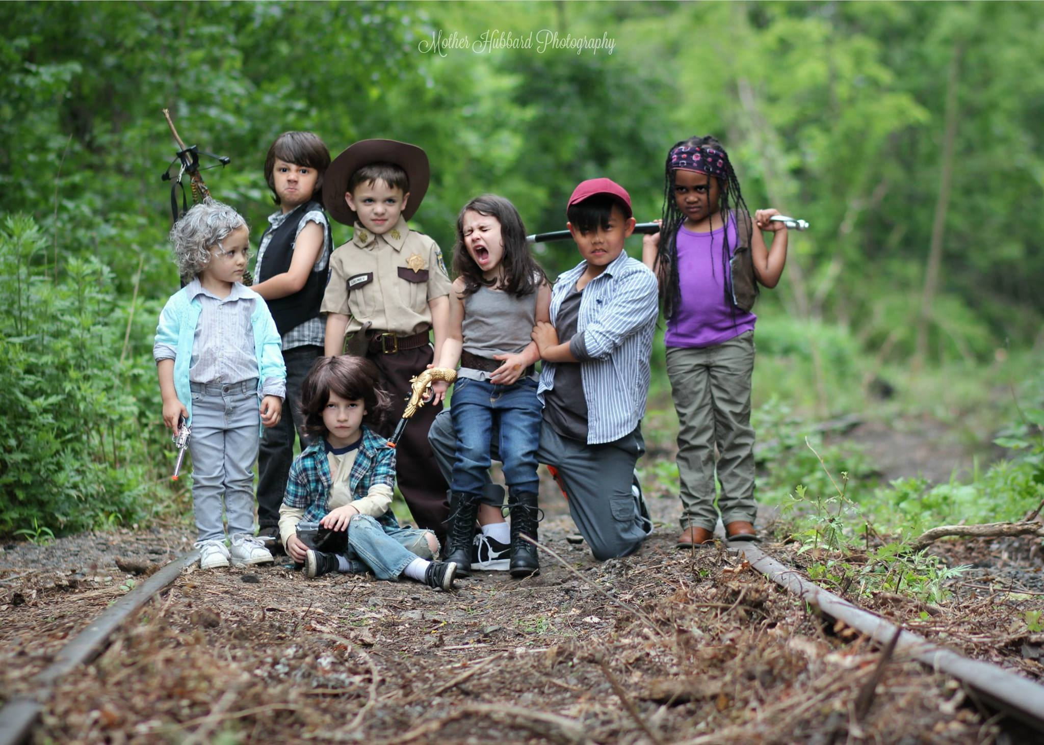 TWD Children's Group Cosplay