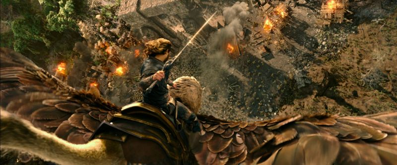 Warcraft Movie Lothar and Gryphon