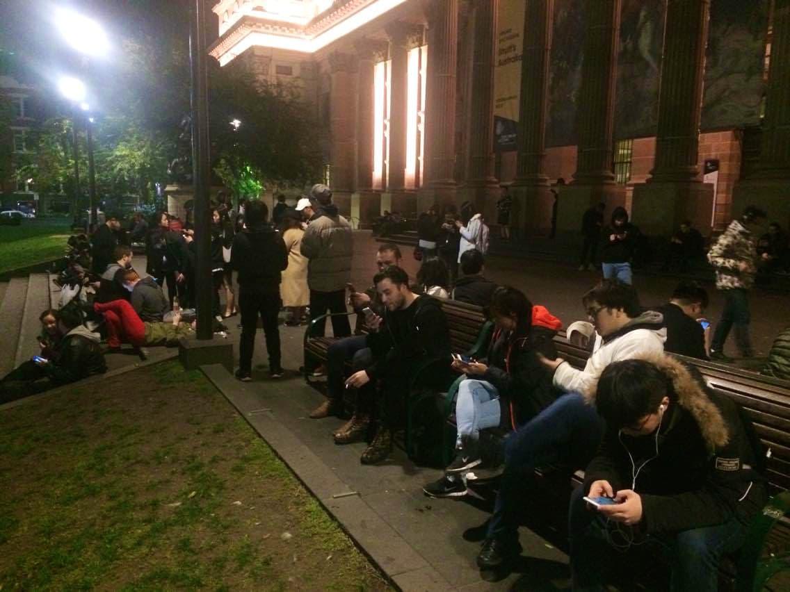 Pokemon Go Players in Melbourne Australia
