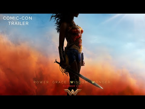 Wonder Woman SDCC Movie Trailer