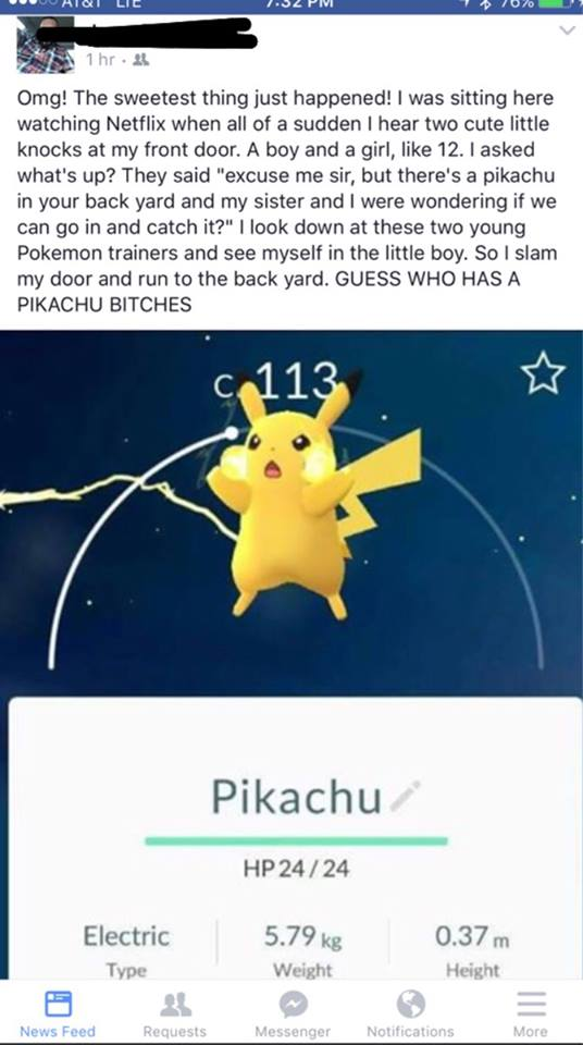 Pokemon Go Funny Photo 1