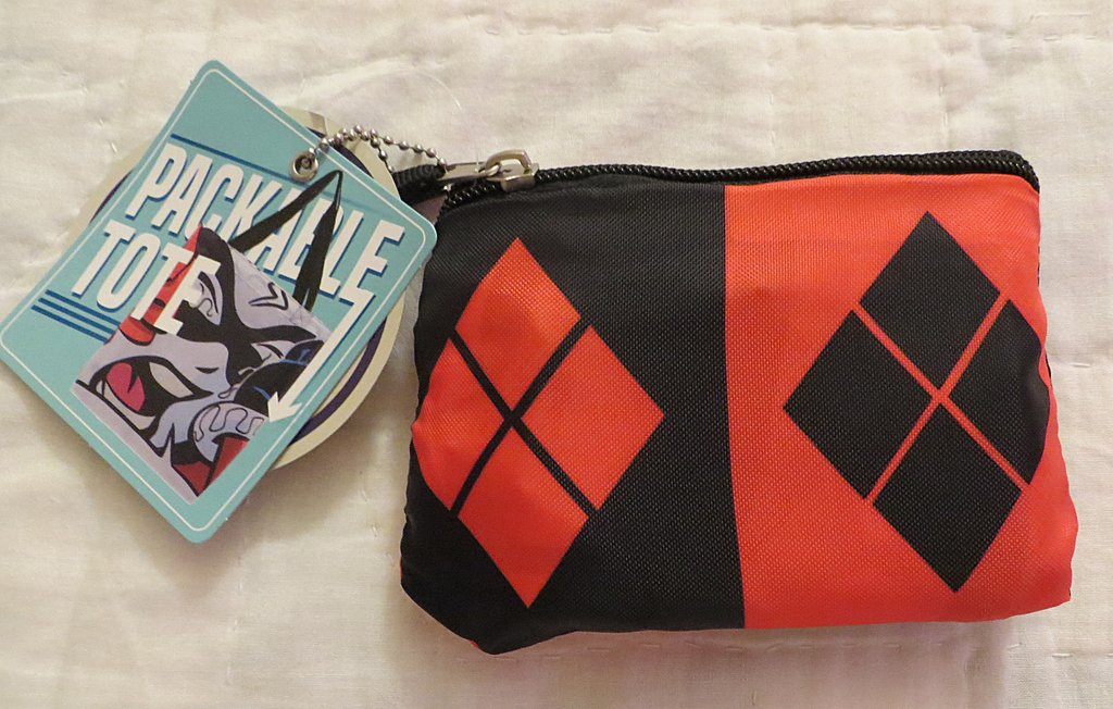 Harley Quinn Packable Tote Bag from nerdimports