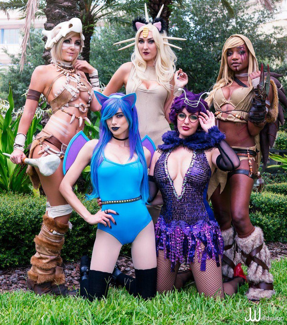 Girls of Pokemon Cosplay from Tamba Bay Comic Con 2016