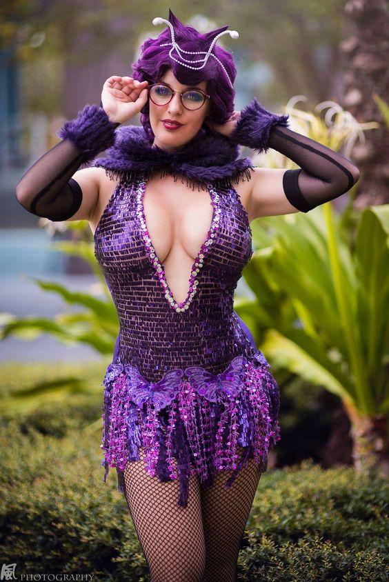 Venonat cosplayed by Lisa Lou Who