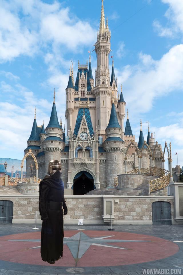 Kylo Ren at Disney