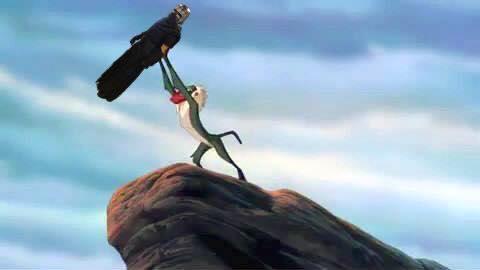 Kylo Ren Lion King