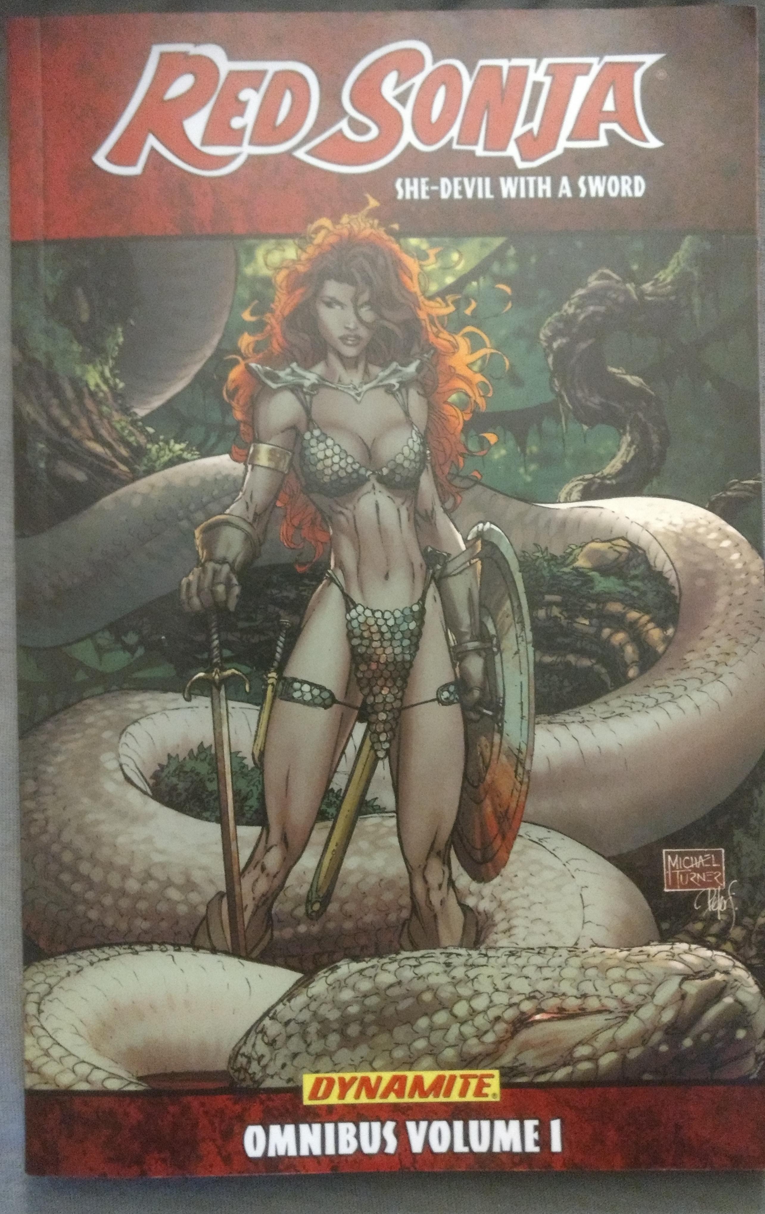 Red Sonja Omnibus Volume 1 Cover