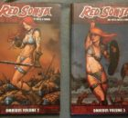 Red Sonja Omnibus Volumes 2 and 3 Cover NerdImports
