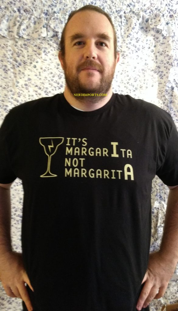 Harry Potter Margarita Shirt Worn by Nick of Nerdimports