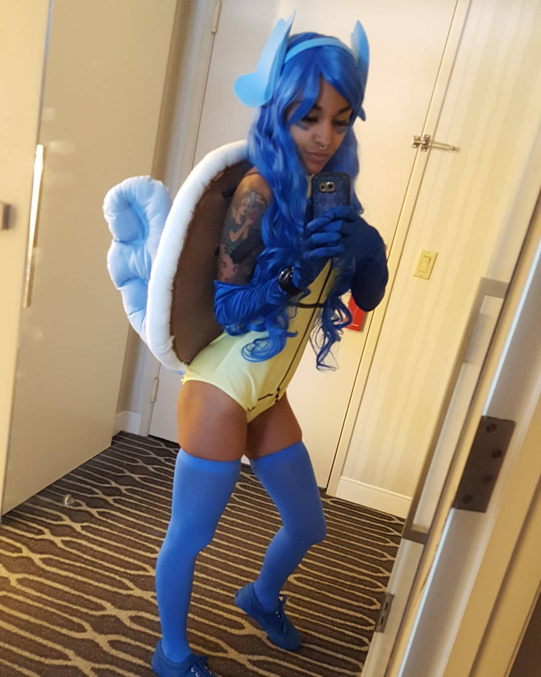 Squirtle Cosplay by Princess Calaveraa