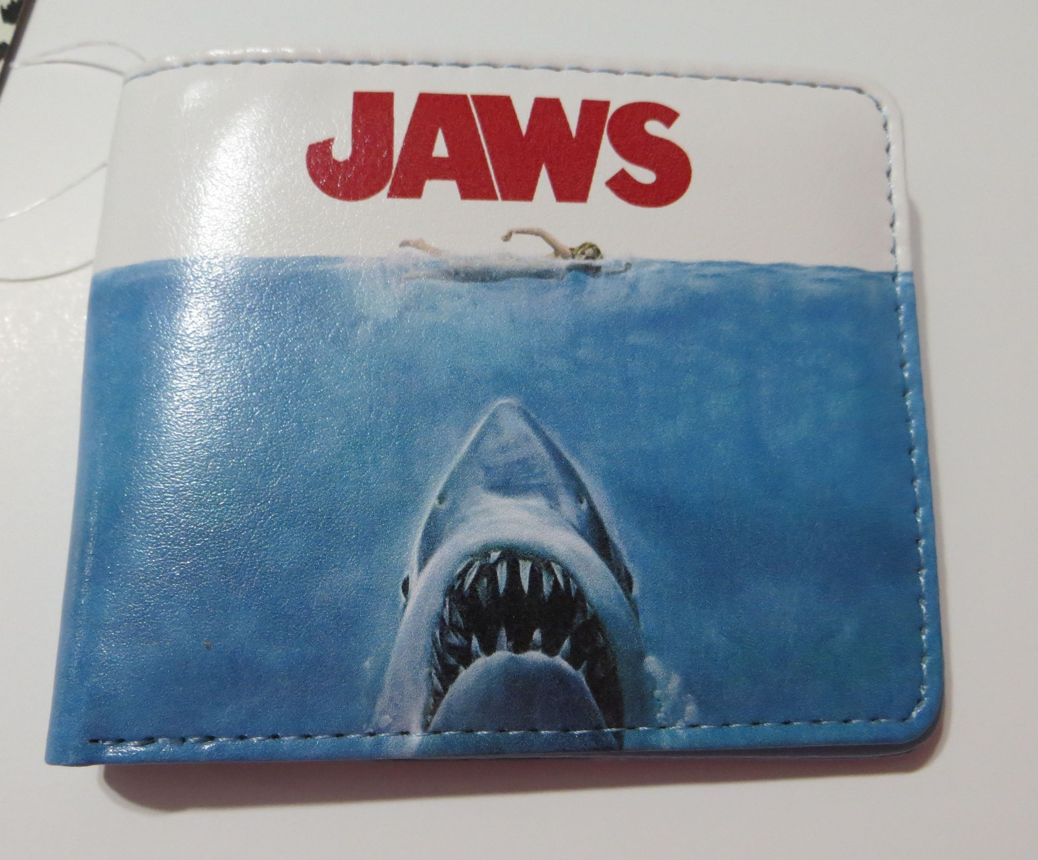 Jaws Men's BiFold Wallet Available at Nerdimports.com